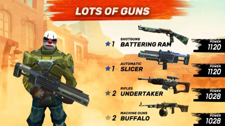 Guns of Boom Cheats Hack - Infinity Gold and Gunbucks